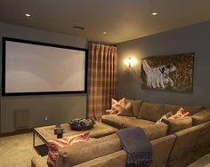 Traditional Basement Design, Pictures, Remodel, Decor and Ideas - page 20