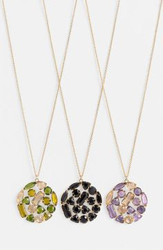 kate spade new york 'desert stone' long pendant necklace available at Nordstrom