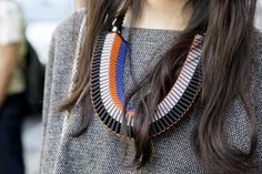 DIY ACCESSORY INSPO | Beaded Statement Necklace