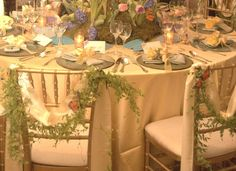 Nature Themed Wedding | Butterfly and Nature themed wedding decor