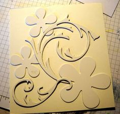 make you own embossing folder