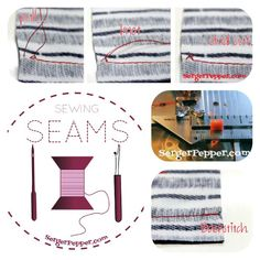 Learn everything about: Seam Basics - Sewing Seams 101 Series - SergerPepper.com