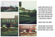 [A Photographers Guide - Location Scouting]