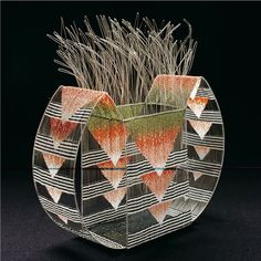 Jeanette Ahlgren, Artist, 'Regrowth' 1994, seed beads, wire; loom woven, 12 x 12 x 7 inches, Photo by artist