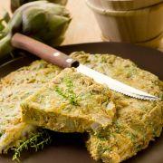 Omelet met artisjokken
