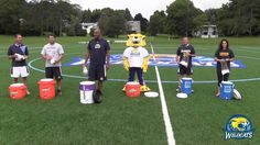 """The Cazenovia College Athletics administration took part in the """"Ice Bucket Challenge"""" to help support and raise awareness for ALS. We nominate you CazNation! Share your videos with us using the #CazSupportsALS"""