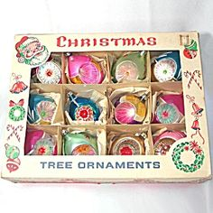 Perfect for that vintage look on your tree! Box 4 Inch Poland Teardrop Indent Christmas Ornaments http://www.tias.com/box-4-inch-poland-teardrop-indent-christmas-ornaments-676667.html