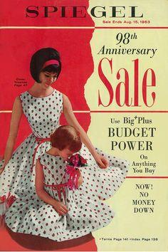 1963 Spiegel Catalog Cover