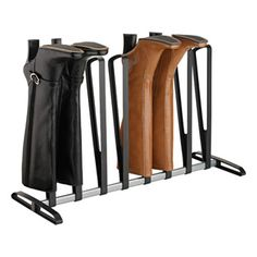 4-Pair Boot Rack #shoestorage #closet
