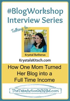 #Blog Workshop: How One Mom Quit Her Job and Turned Her Blog Into a Full Time Income #BlogWorkshop #blogging #blogtips http://thetakeactionwahm.com/blog-workshop-how-one-mom-quit-her-job-and-turned-her-blog-into-a-full-time-income/?utm_campaign=coschedule&utm_source=pinterest&utm_medium=Kelly%20The%20Take%20Action%20WAHM%20(The%20Take%20Action%20WAHM)&utm_content=%23Blog%20Workshop%3A%20How%20One%20Mom%20Quit%20Her%20Job%20and%20Turned%20Her%20Blog%20Into%20a%20Full%20Time%20Income