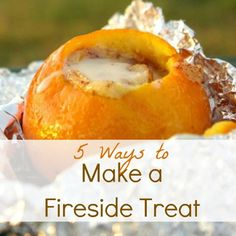 think outside of the marshmallow -sharing 5 delicious fireside treats from around the blogosphere.