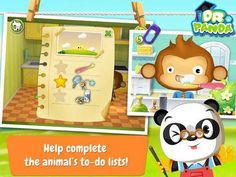 Free app for kids: Dr. Panda's Home is free now (limited time special offer) - a set of virtual home/housework related activities. http://www.appysmarts.com/application/dr-panda-s-home,id_78263.php