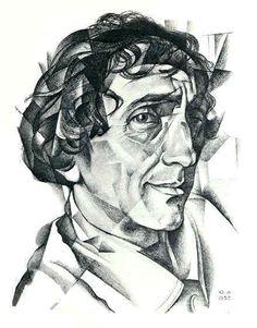 Yury Annenkov - Portrait of N.Evreinov