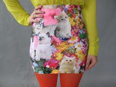 Kitty skirt.