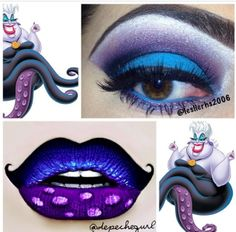 Ursula inspired #makeup
