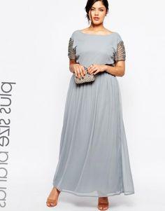 Длинное платье клеш с рукавом выкройка