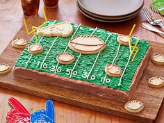 Game Day Chocolate Cake Recipe : Food Network Kitchens : Food Network - FoodNetwork.com