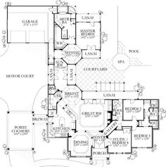 Architecture Floor Plans Amp Sketches On Pinterest House