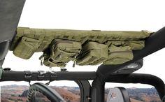 Smittybilt G.E.A.R. Overhead Console for 07-13 Jeep® Wrangler & Wrangler Unlimited JK