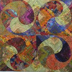Louisa Smith's Swirl Quilt…is this not absolutely beautiful?  WOW