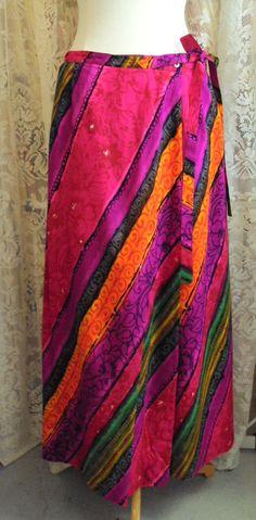 Vintage Leslie Fay Maxi Skirt 1970 on Etsy at RetroRosiesVintage