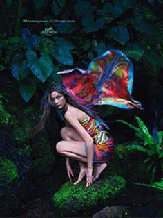 La métamorphose, une histoire Hermès Hermes.com/silkknots #Hermes #Silk #SilkKnots
