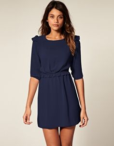 ASOS Mini Dress with Frill Detail  €46.15