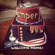 Marine semper fi cake