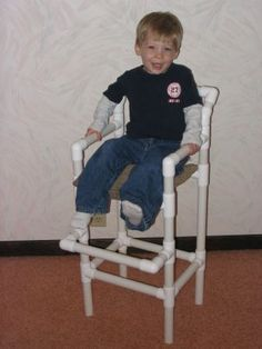 PVC high chair