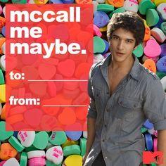 Scott - Teen Wolf valentine