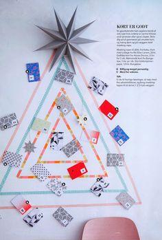 Kerstkaarten ophangen