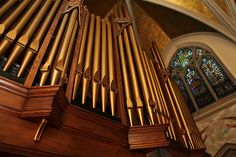 The new organ inside St. Malachy's Church in Manhattan came from a church in New Jersey that had a date with a wrecking ball.