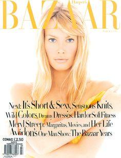 Bazaar March 1994 - Claudia Schiffer