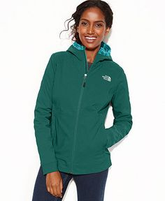 The North Face Jacket, Maddie Raschel Hooded Soft-Shell - Coats - Women - Macy's