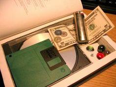How to make a secret hollow book.