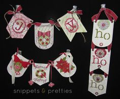Snippets and Pretties: Banner Bash- Christmas