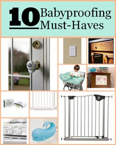 10 must-have #babyproofing items to add to your registry - This is a must-read if you are #expecting! #baby #pregnant - via @catherine gruntman Moss | @Sue Wales Start Blog
