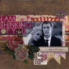 I Am Thinking of You - Scrapbook.com