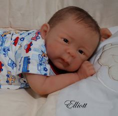 silicone+baby+dolls | El liott is a beautiful baby boy, so soft and squeezable, he melts in ...