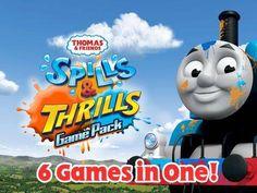 Thomas & Friends: Spills & Thrills Game Pack - 3 interactive scenes based on the Thomas & Friends Spills and Thrills episodes. Appysmarts score: 86/100