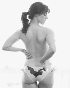 Superhero boudoir pics