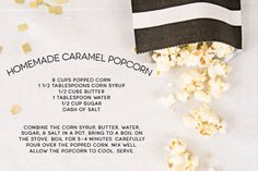 One Charming Party | Birthday Party Ideas › oscars party popcorn