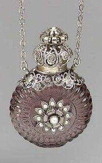 Amethyst Necklace bottle