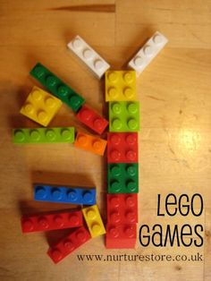 Love Lego - love these ideas for using it for fun maths games.