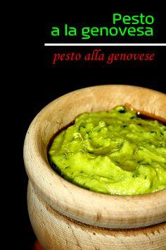 Pesto a la genovesa - LAS SALSAS DE LA VIDA