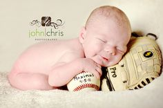 Love the name and date on the baseball! Someday if there is a baby boy k...or could do with a softball for baby girl. :-)