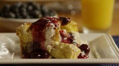 Overnight Blueberry French Toast Allrecipes.com