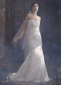 Create enduring memories on your special day in this stunning wedding dress!  Style SWG574. #galinasignature #davidsbridal #weddings #weddingdress