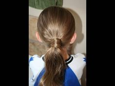 Hair-Wrapped Ponytail Hairstyle