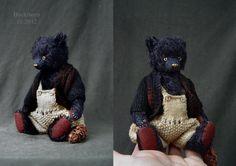 Buckthorn One Of a Kind Mohair Artist Bear from by aerlinnbears, $280.00